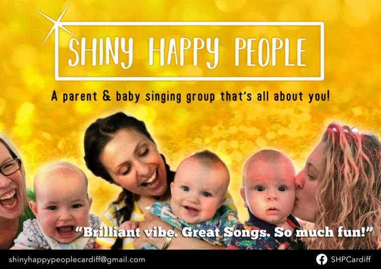 Promo image: Shiny Happy People
