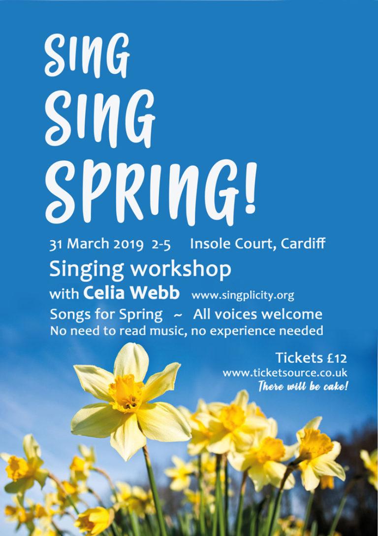 Promo image: Sing Sing Spring!
