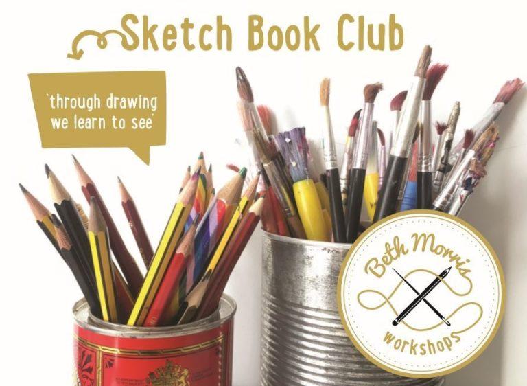 Promo image: Sketch Book Club