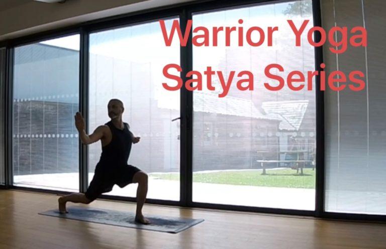 Promo image: Warrior Yoga SatyaSeries