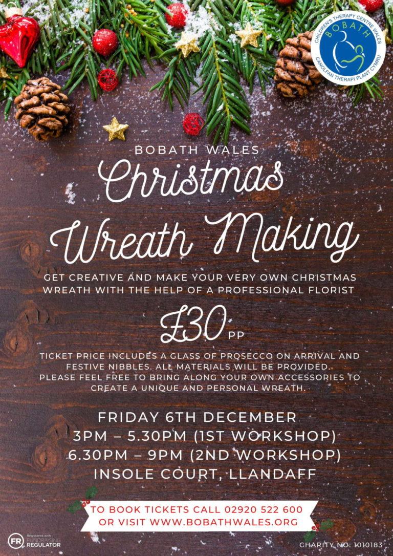 Promo image: Christmas Wreath Making Event