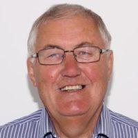 Portrait of Dr Geoff Morgan MB BCh FRCGP
